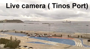 Live web camera ( Tinos Port )